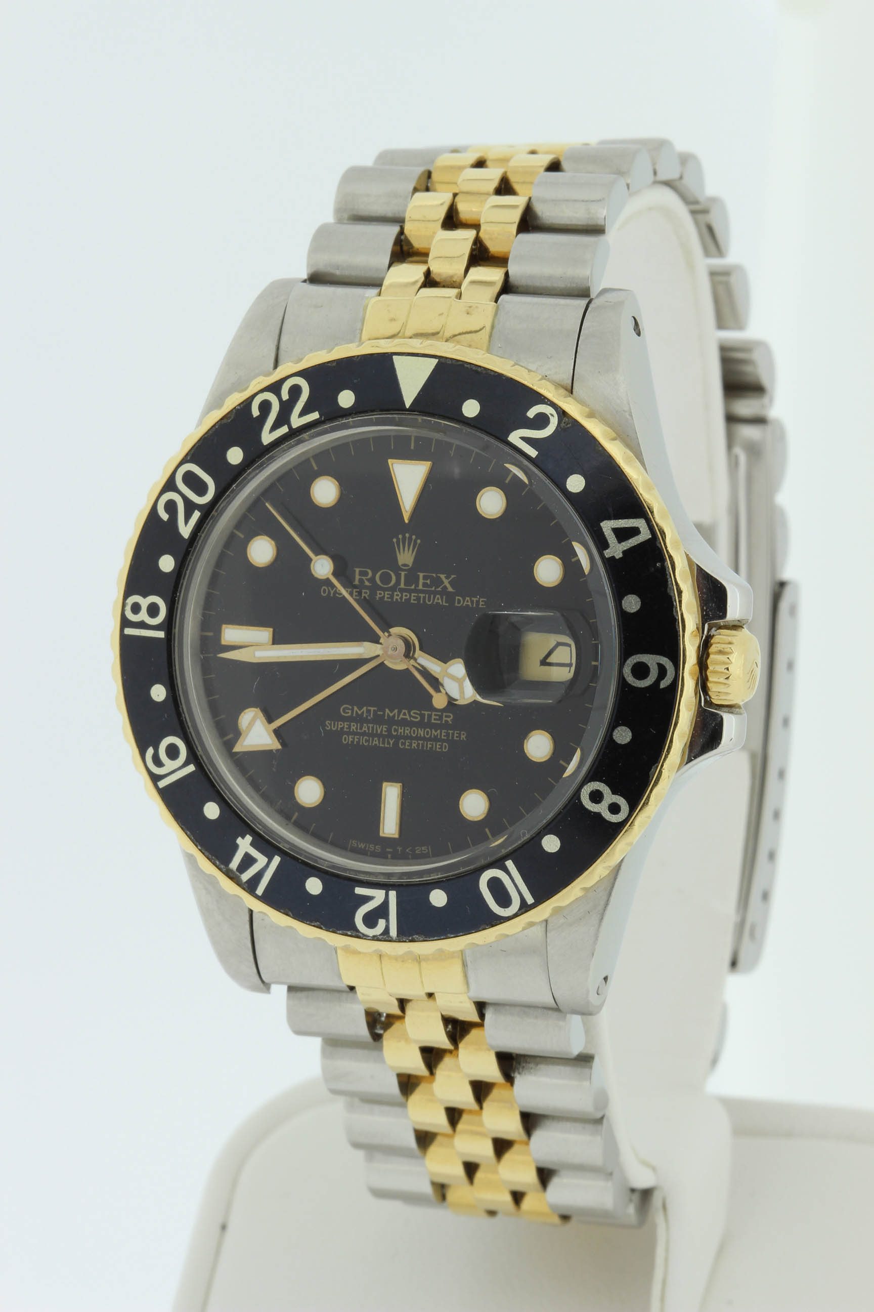 Rolex Gents 18k and Stainless Steel GMT Master $6500