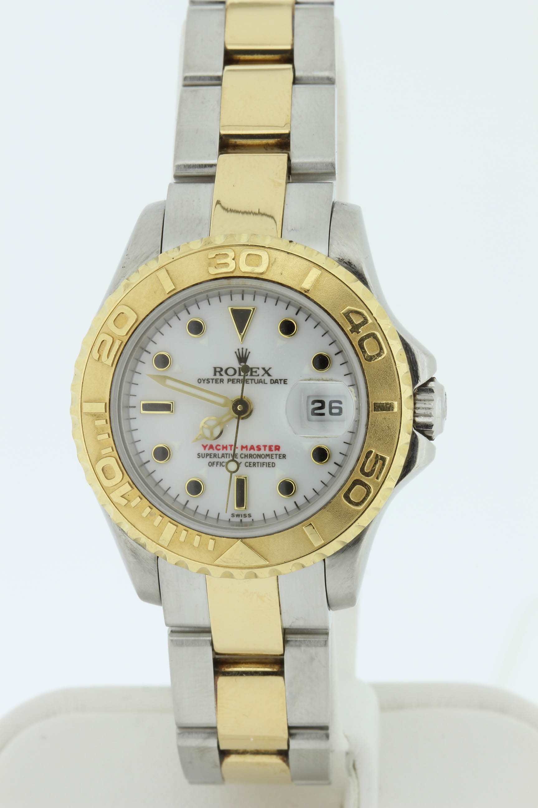 Ladies 18k & Stainless Yachtmaster - $6500