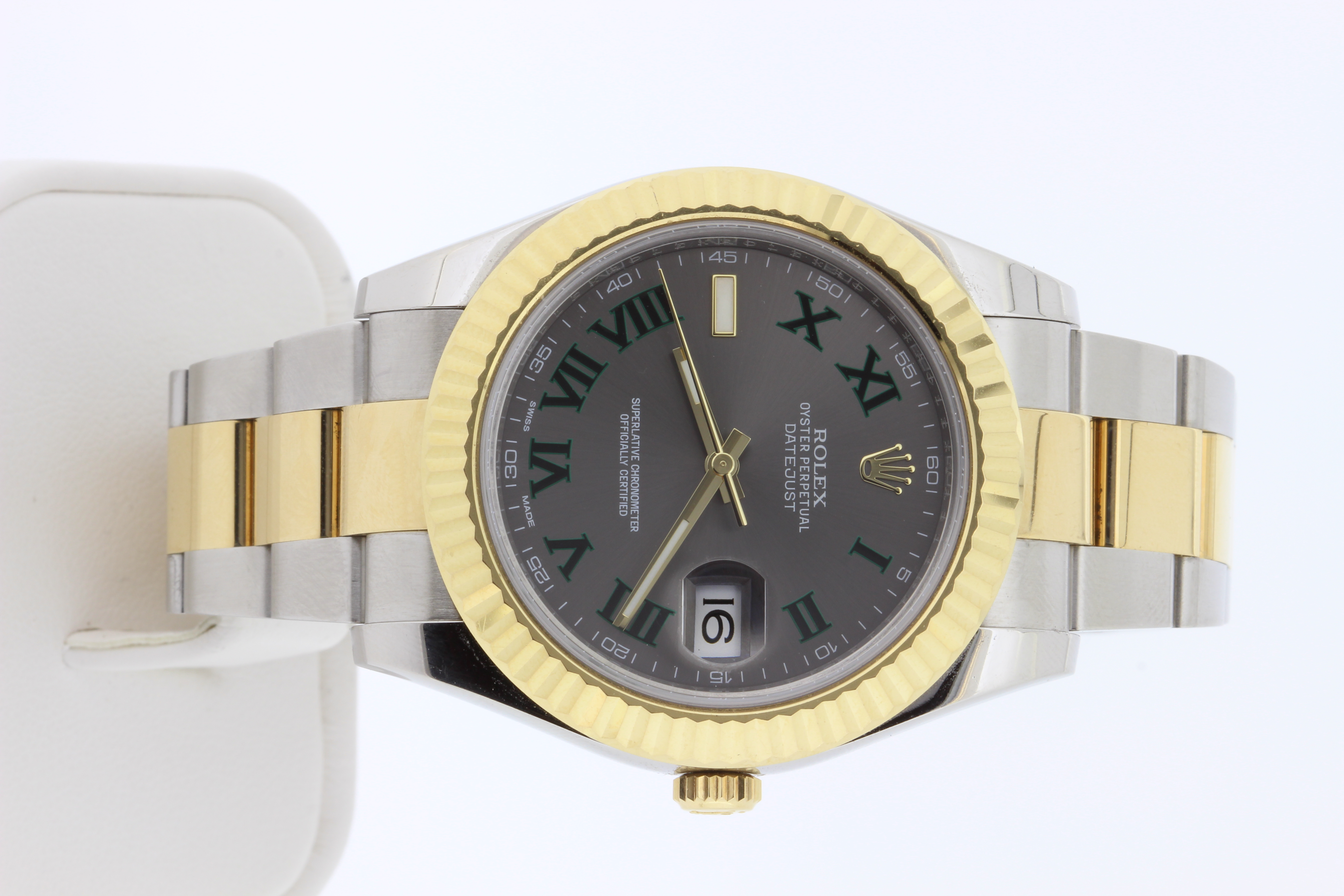 Datejust 2, 2014, box and papers