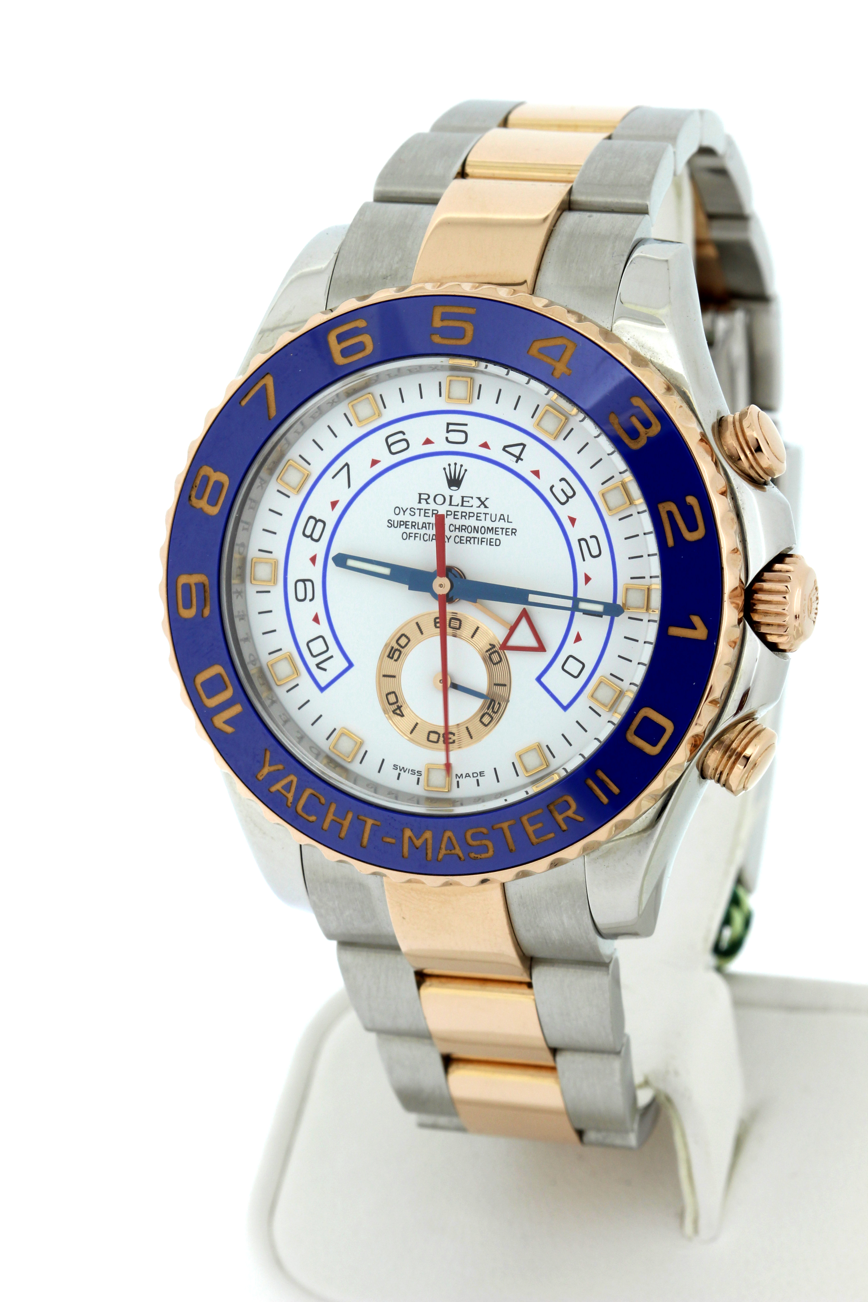 Two-tone rose gold, box/pap